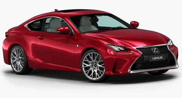 2015 Lexus RC 3D Models