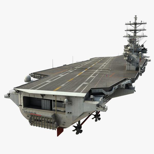 USS Ronald Reagan (CVN-76) 3D Models