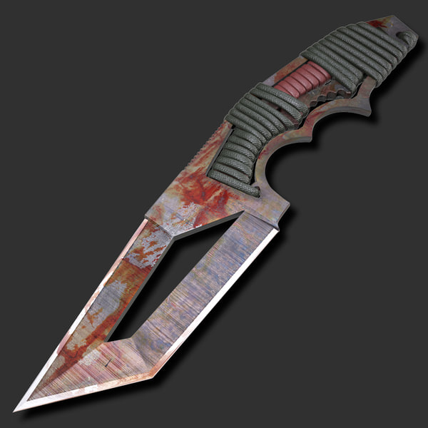 Bloody Knife 3D Models