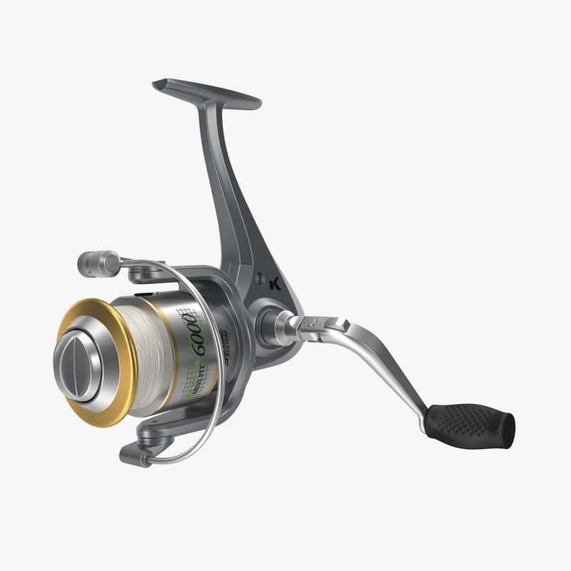 Fishing Reel 3d model 00.jpg