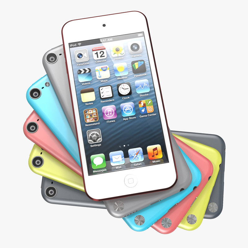 iPod Touch Set 3d models 00.jpg