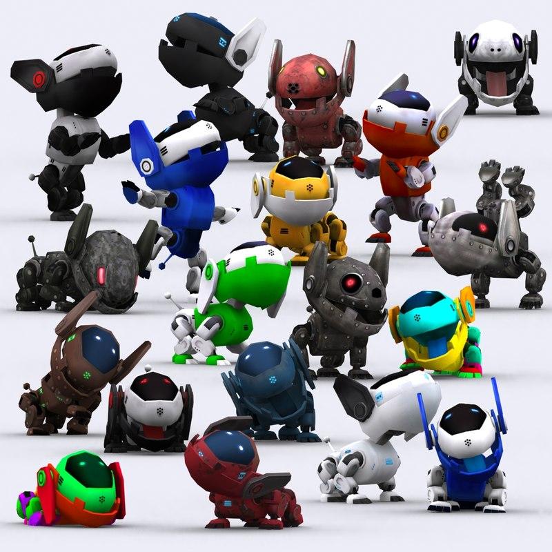 3DRT-Robopuppies