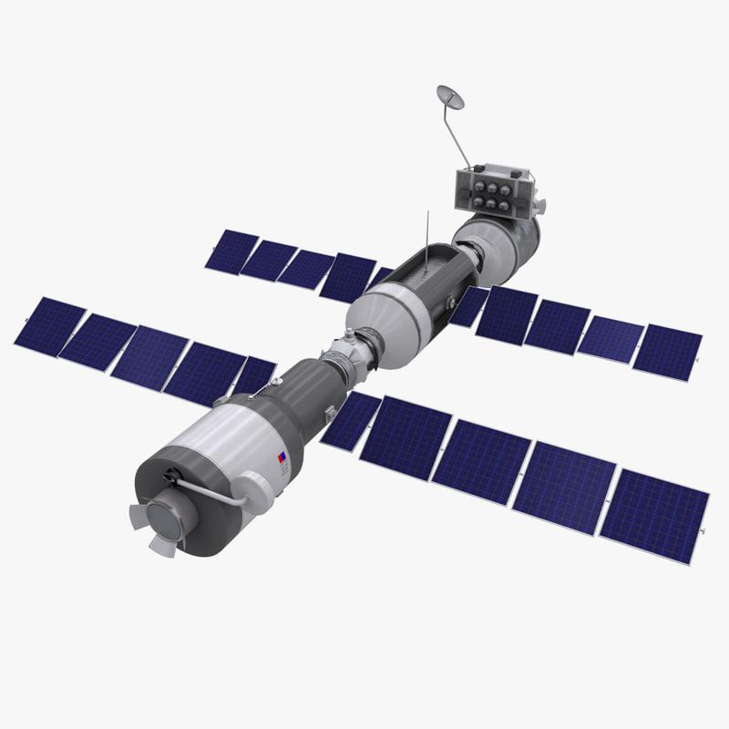 space station satellite