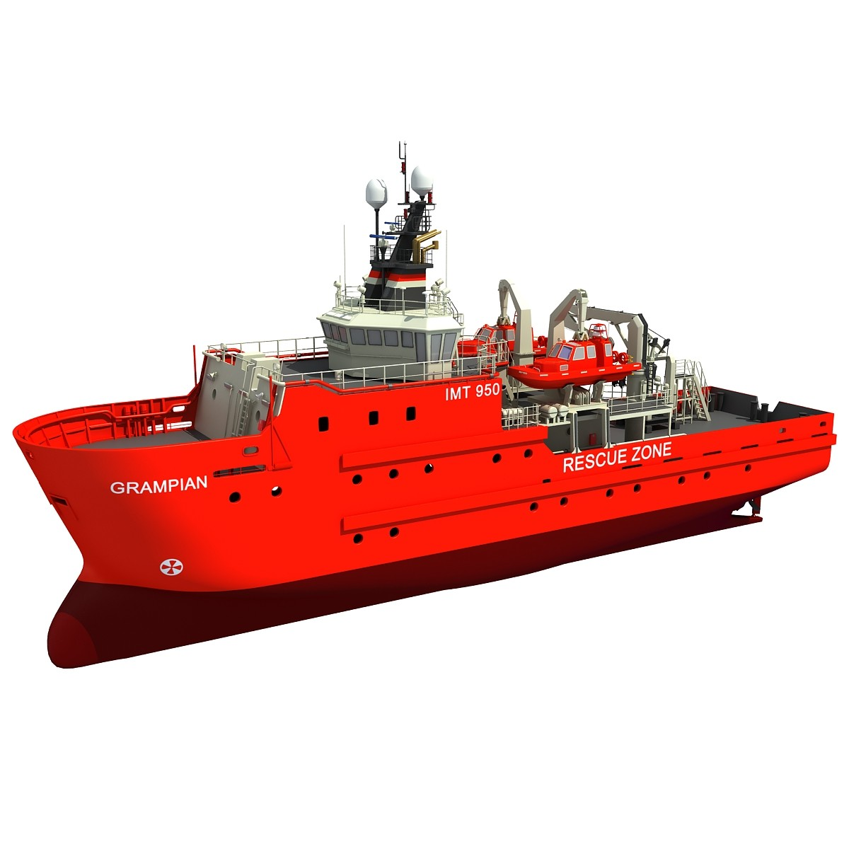 Grampian Defiance Emergency Response and Rescue Ship