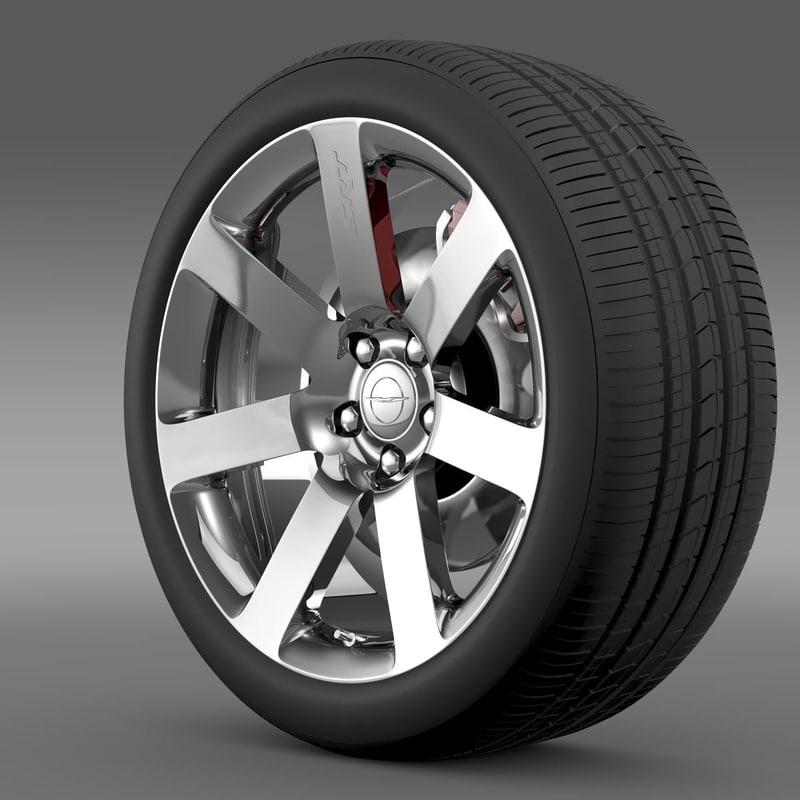 Chrysler 300 SRT8 wheel