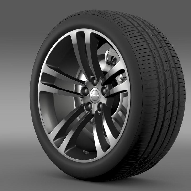 Chrysler 300 SRT8 Core wheel