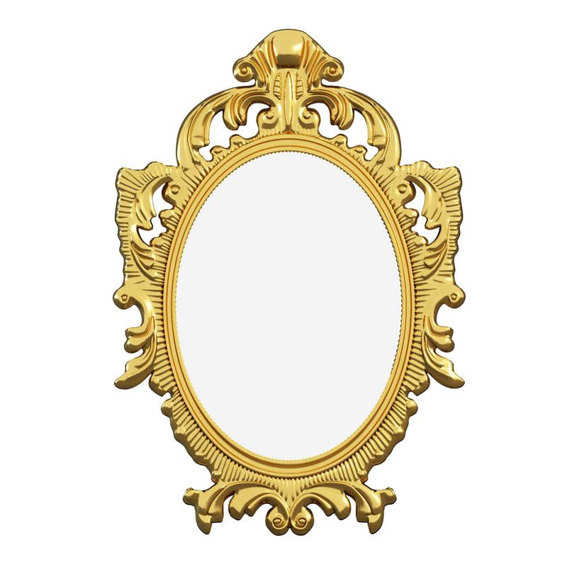 Mirror 3d model for Mirror 3d model