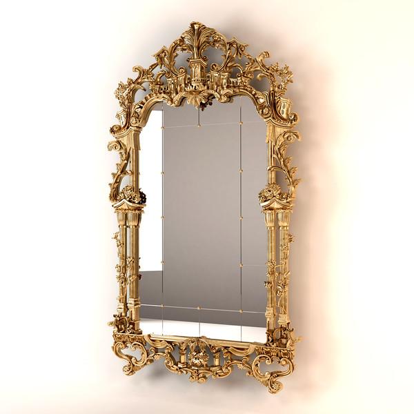 Provasi Luxury Mirror 3D Models