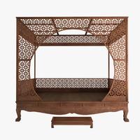 Canopy Bed 3D models