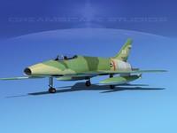 F-100 Super Sabre 3D models