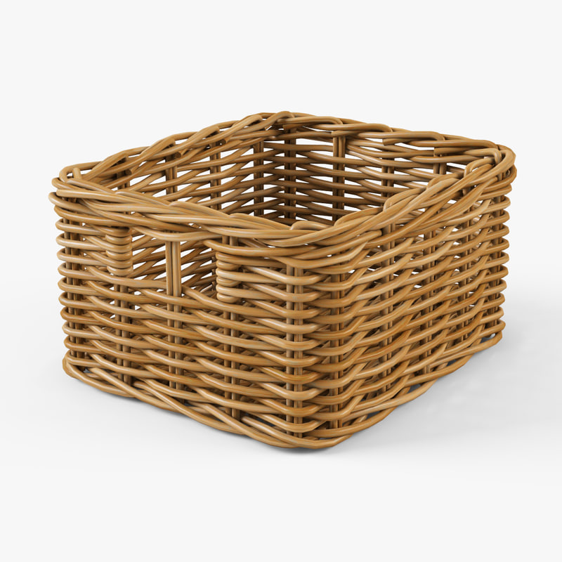 wicker basket ikea byholma max. Black Bedroom Furniture Sets. Home Design Ideas