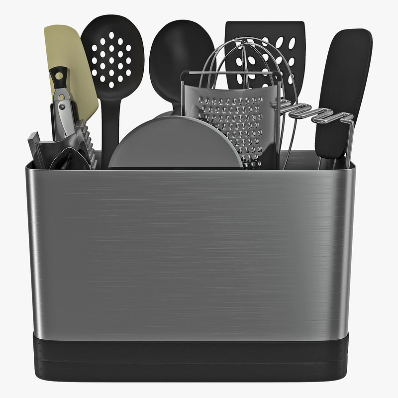3d model kitchen tool set for Model model kitchen set