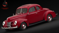 Ford De Luxe 3D models