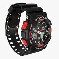 digital watch 3D models