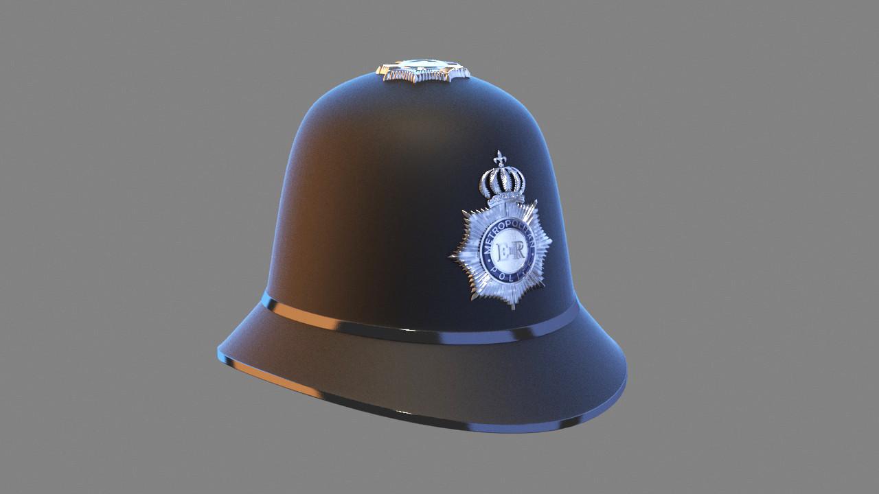 English Police Hat