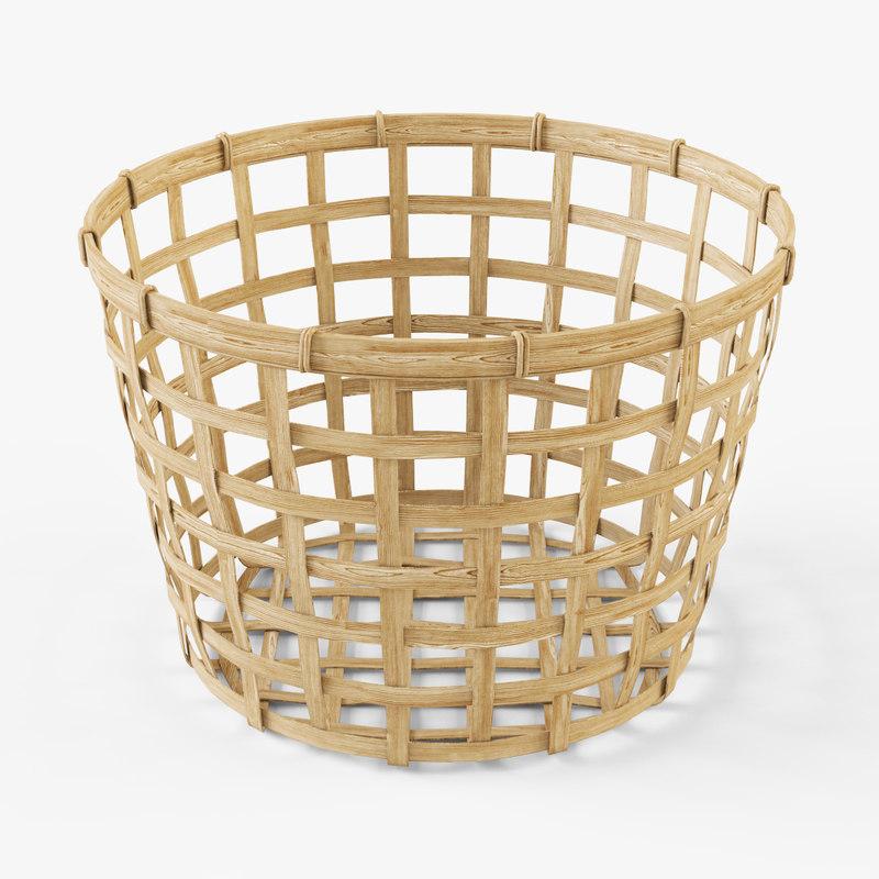 Wicker basket Ikea Gaddis(diameter 32)