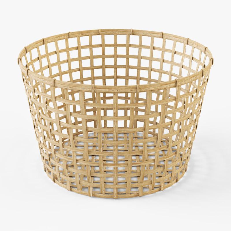 Wicker basket Ikea Gaddis(diameter 50)