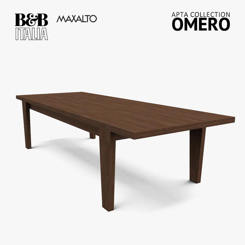 Table B&B; Italia Maxalto Omaro