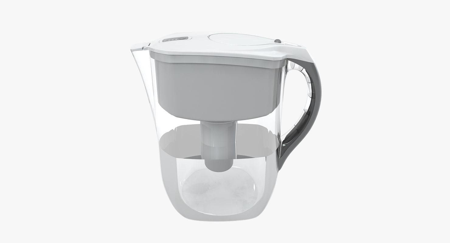 3d brita water filter jug