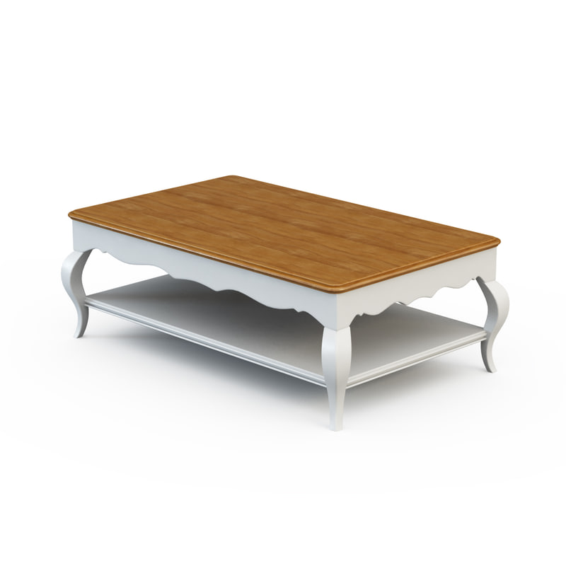 3d model coffee table pr220 for Coffee table 40 x 24