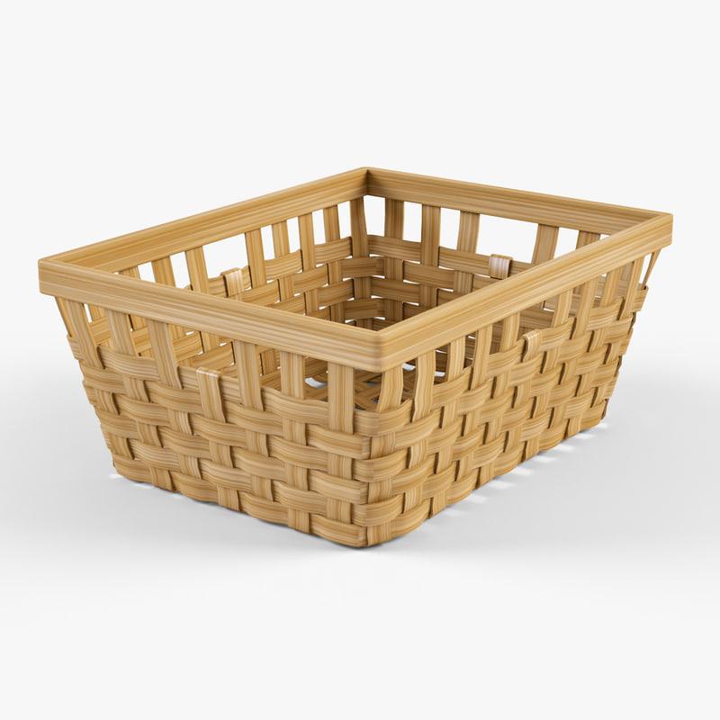 Wicker basket Ikea Knarra 1(natural color)