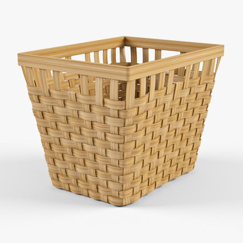 Wicker basket Ikea Knarra 2(natural color)