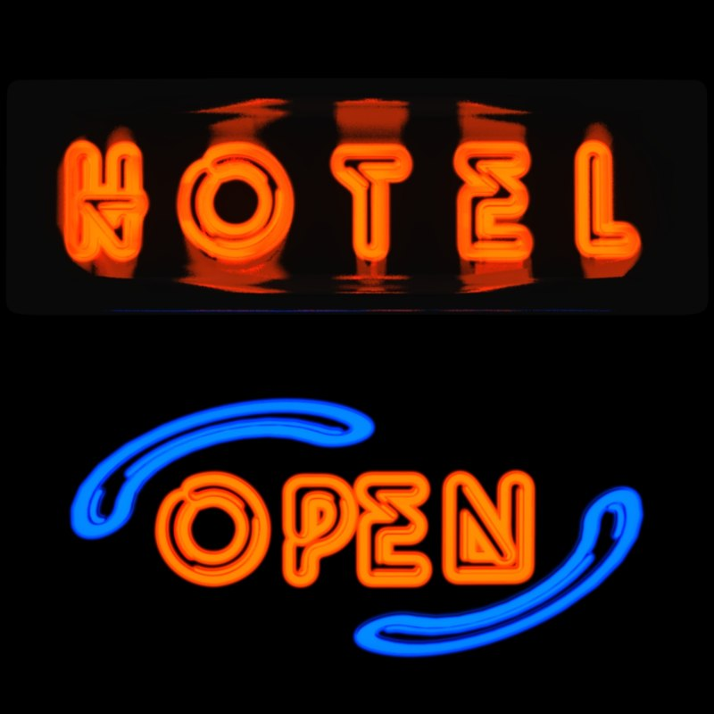 3d neon tube sign bulb light. Black Bedroom Furniture Sets. Home Design Ideas