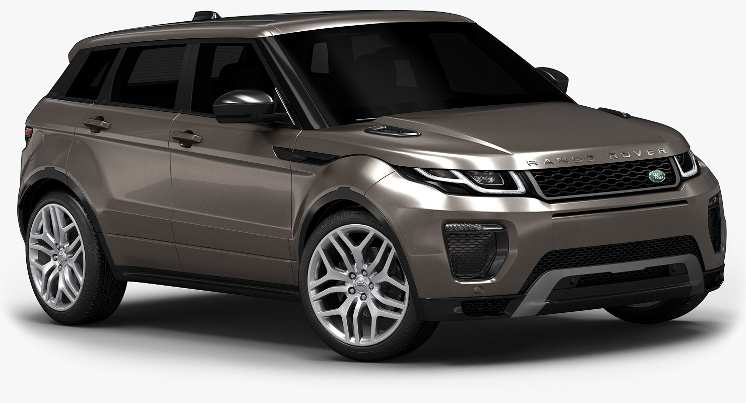 2016 range rover evoque 3d model. Black Bedroom Furniture Sets. Home Design Ideas