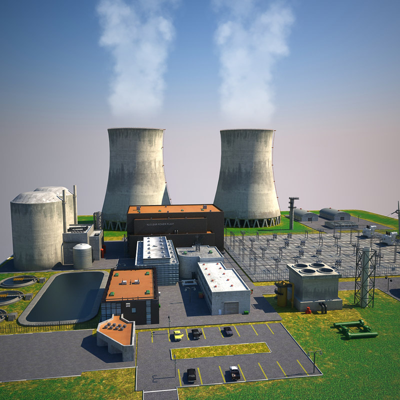 Nuclear Power Plant Station