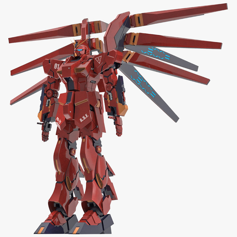 Giant Robot Gundam 3d model 00.jpg