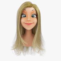 Cartoon Head 3D models