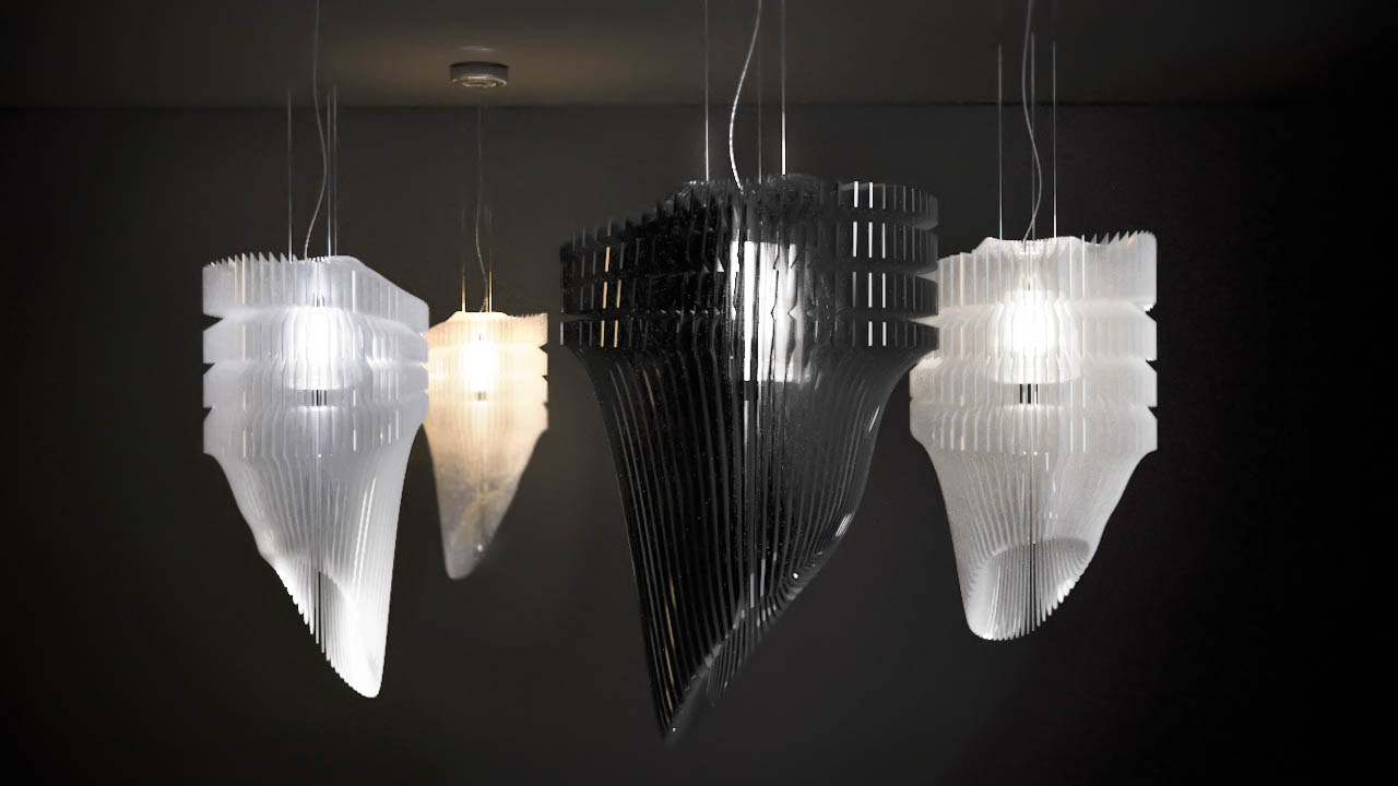 Zaha 3d models for Zaha hadid lamp