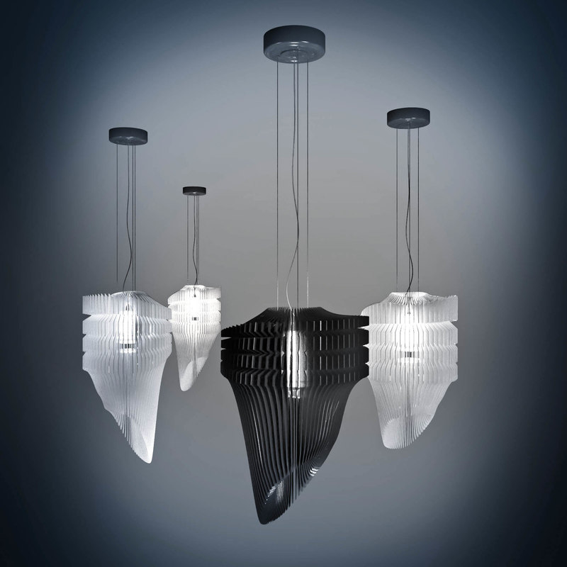 3ds max lamp for Zaha hadid lamp