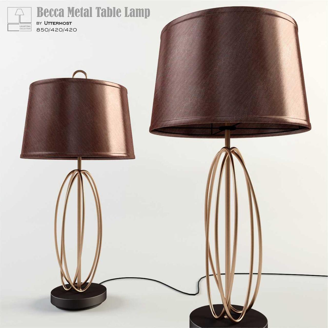 Becca Metal Table Lamp