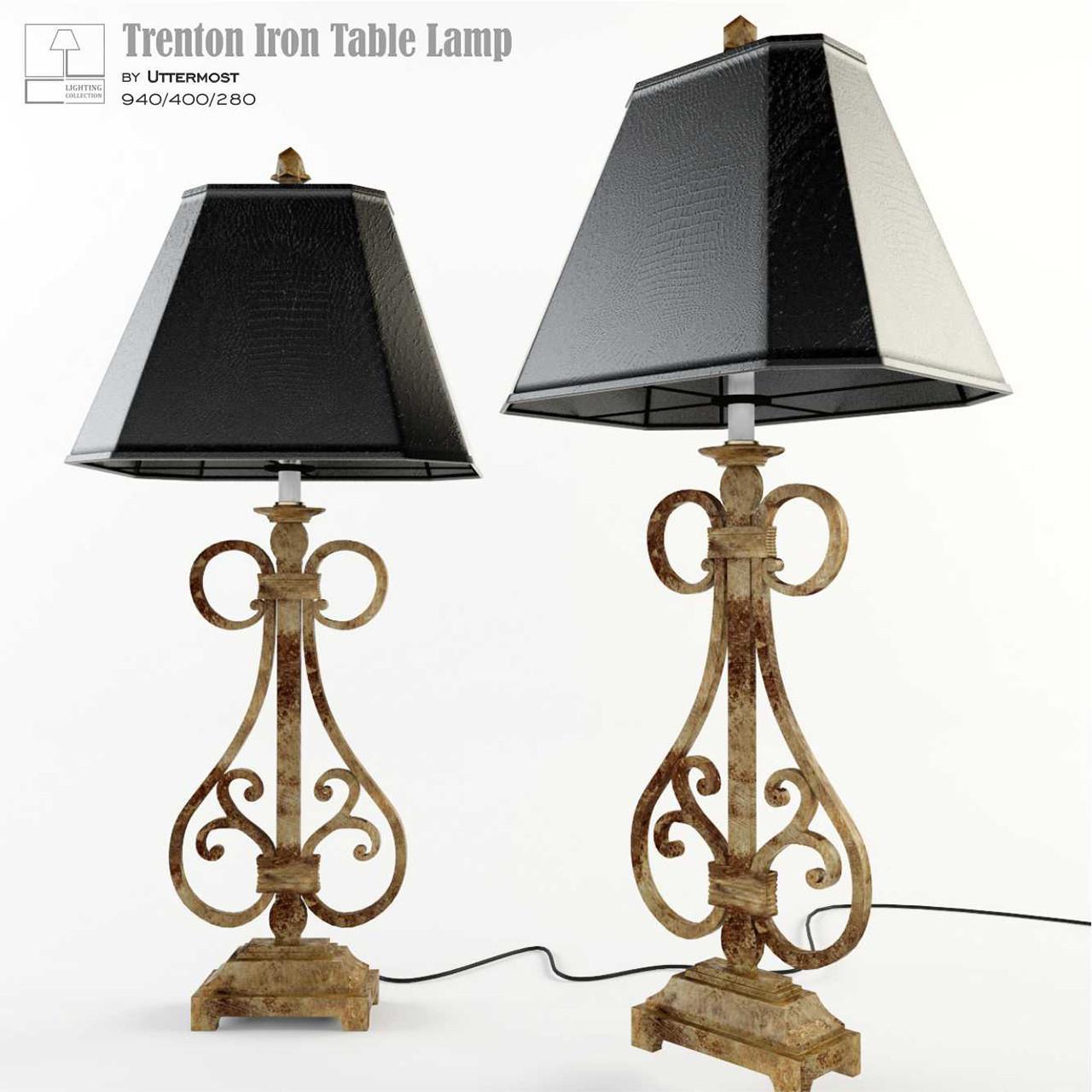 Trenton Iron Table Lamp