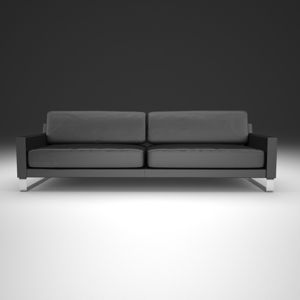 sofa rolf benz   3d max