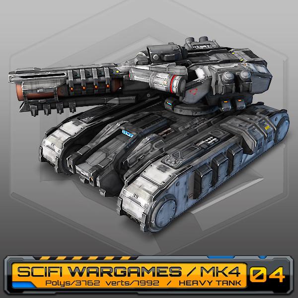 SciFi Heavy Tank / MK4