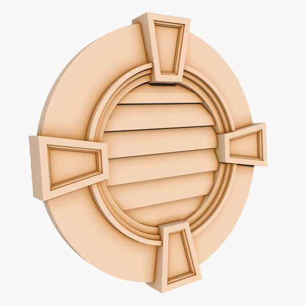 Round Louver 3 - 30 inch