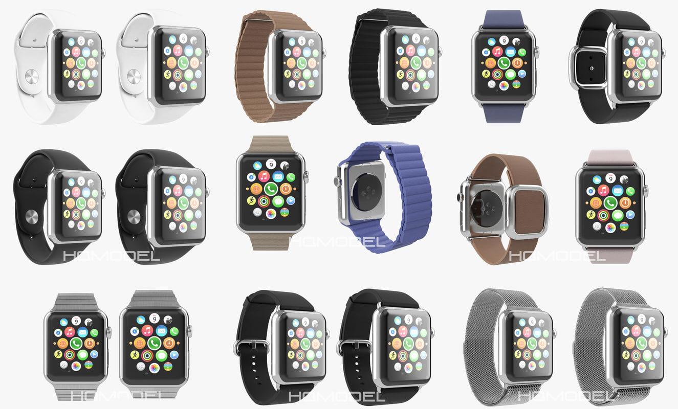 Apple Watch Collection Premium Steel