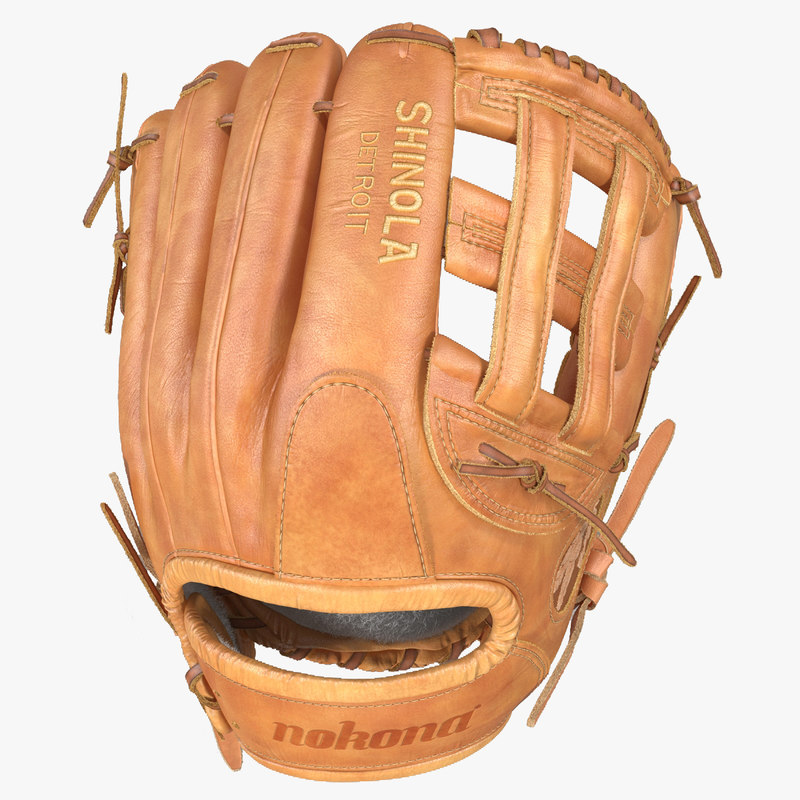 3d model of Baseball Glove Shinola 00.jpg