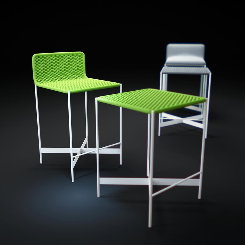 3ds max heron chair