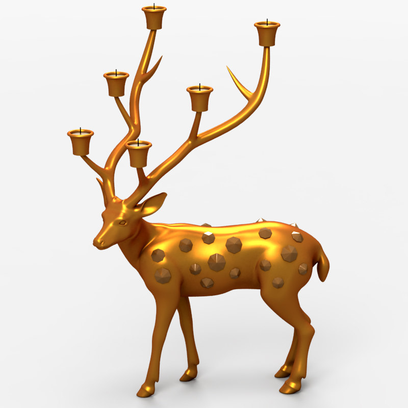 Deer Candle Support