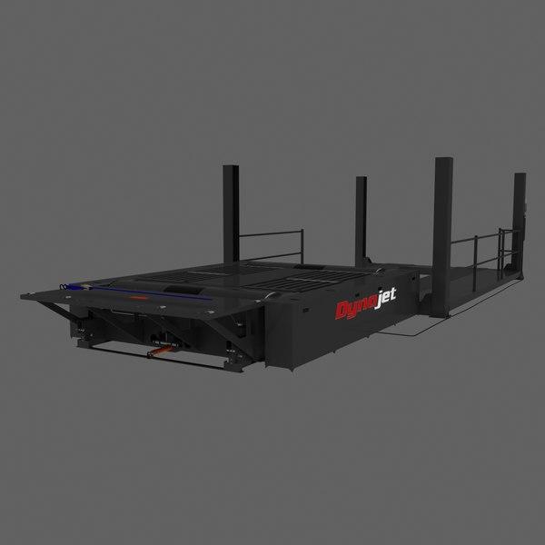 Dynamometor AWD 3D Models