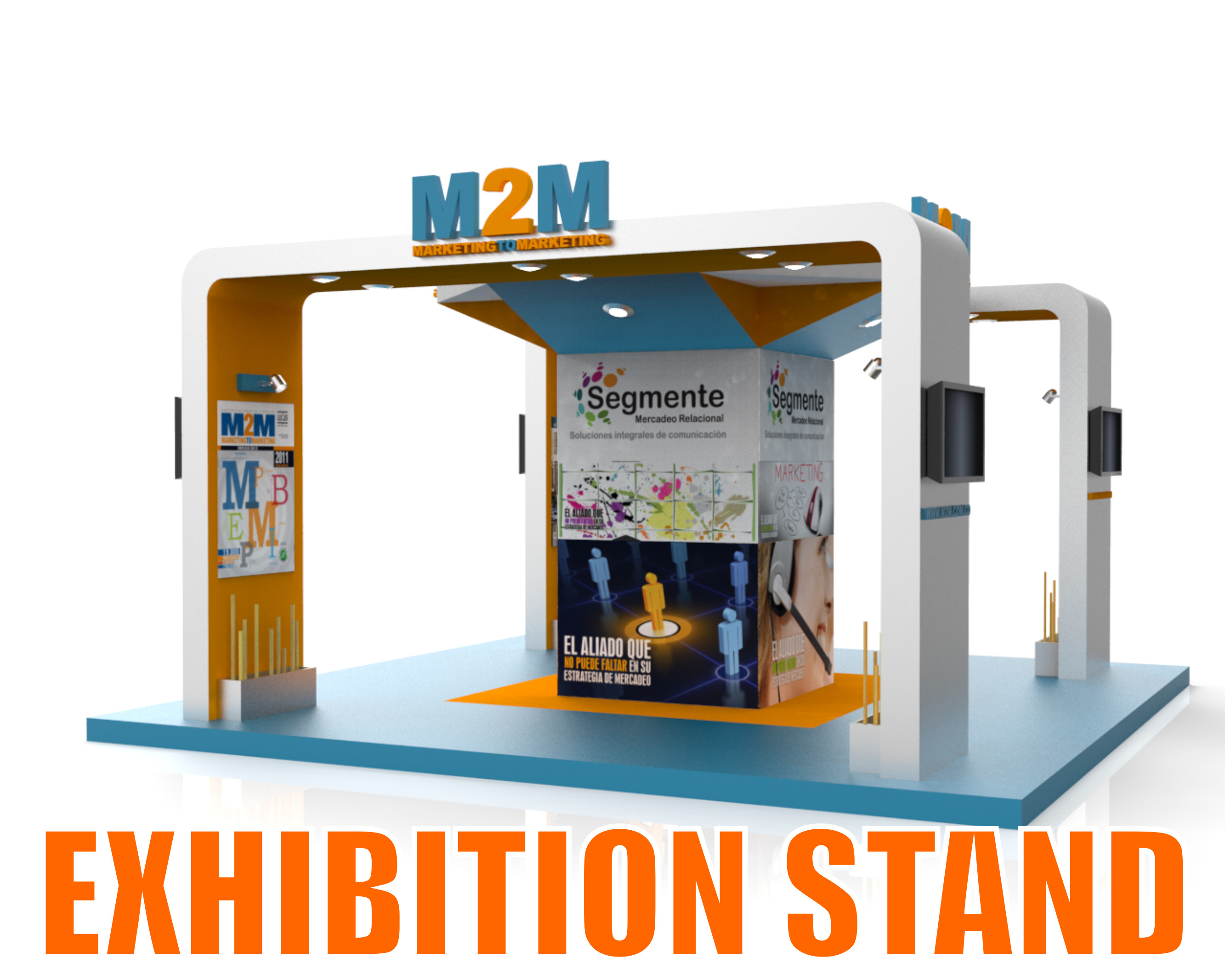 Exhibition Stand Sketchup : D model exhibition stand