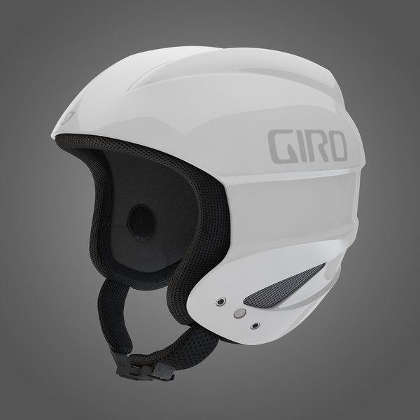 Giro Sestriere Helmet White 3D Models