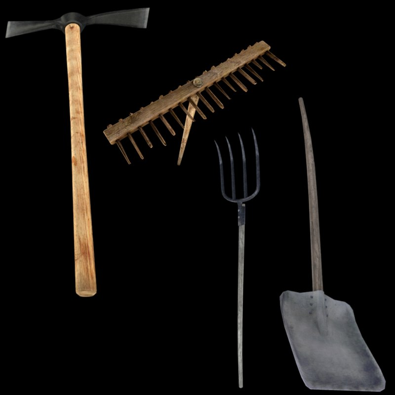 3d model garden tools for Garden design 3d tools