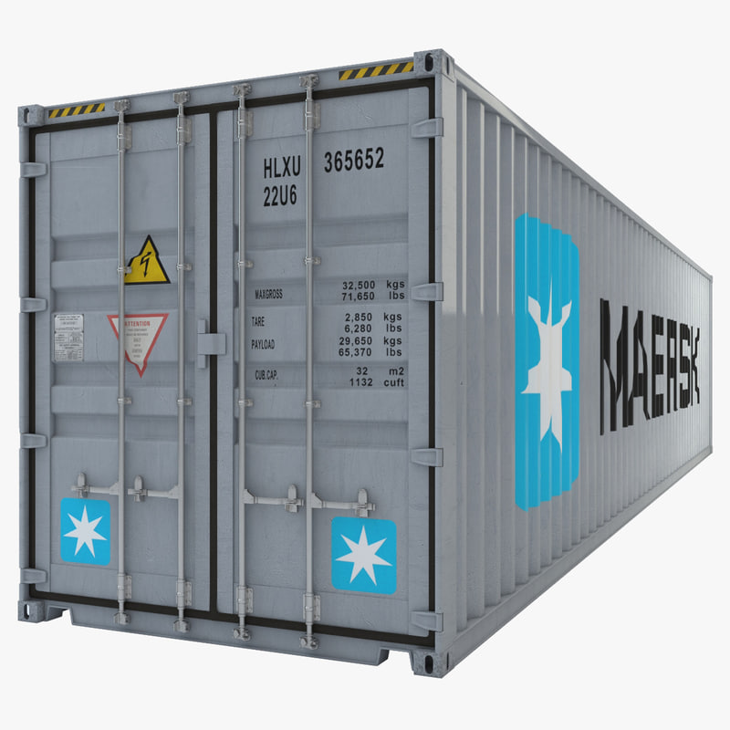 Container industrial 40ft