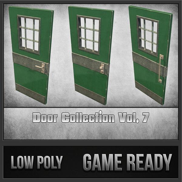 Door Collection Vol. 7 3D Models