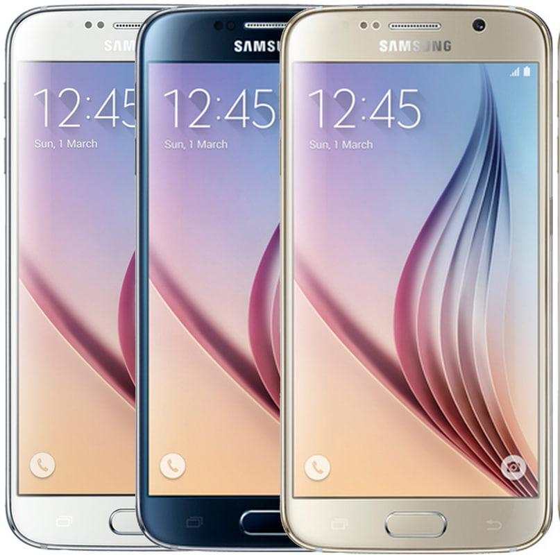 Samsung Galaxy S6 in all Colour