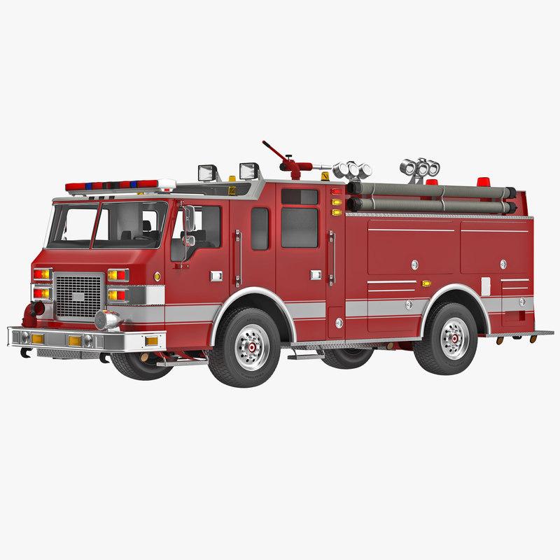 Fire Truck Apparatus 3d model 01.jpg